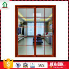 O mais barato simples projeta a porta do vidro de deslizamento com grades O mais barato simples projeta a porta do vidro de deslizamento com grades