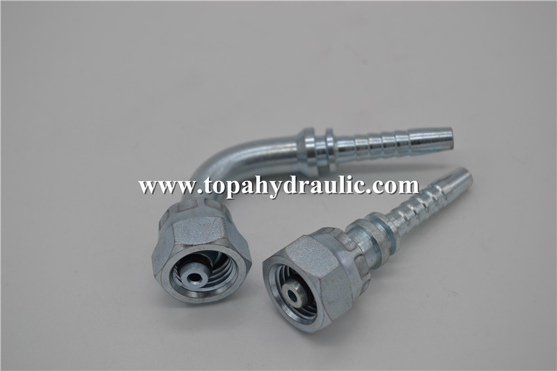 Parker flexible tube braided fuel line fittings