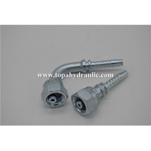 Quick disconnect industrial hose hydraulic bulkhead fittings