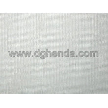 White tricot fabric for shoes or garment