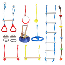 Лестница, качели, колесо и кольца GIBBON Slackline