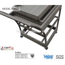 Buy grey rattan basket trolley with alibaba trade assurance.