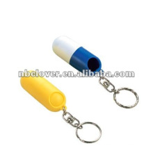Reise-Pill-Box-Schlüsselanhänger für Promotion