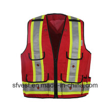 High Quality Visible Reflective Warning Vest