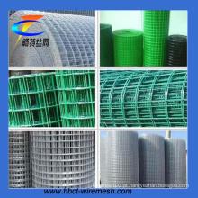 Fornecedor de Alibaba galvanizado / PVC revestiu a malha de fio soldada (fábrica)