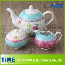 Vente en gros Service à thé en porcelaine
