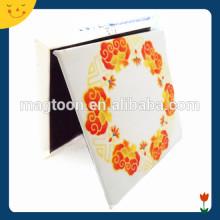 Flor colorida de encargo del metal iman