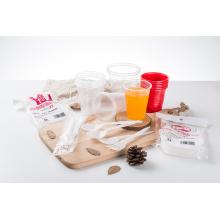 Cuillère à serviette en plastique PP de qualité alimentaire