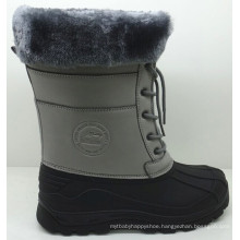 Warm Injection Boots / Winter Snow Boots with PU Upper (SNOW-190026)
