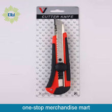 plastic box cutter safety knife
