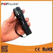 Wasserdichte Xm-L T6 LED Zoomable Fackel Licht