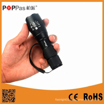 Waterproof Xm-L T6 LED Zoomable Torch Light