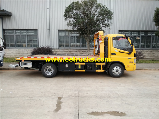 Foton Flatbed Car Towing Trucks