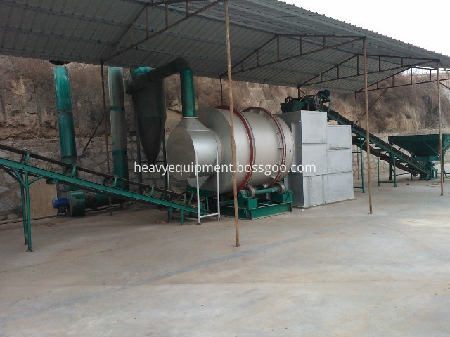 3 pass rotary dryer