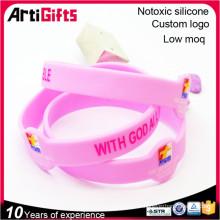 Promotion en gros silicone bracelet bracelet de vibration
