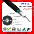 Cable de fibra óptica blindado GYXTW de modo simple