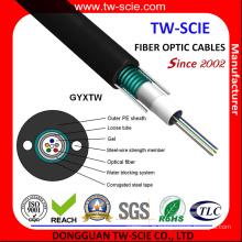 GYXTW du câble de fibre optique à tube lâche central