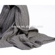 PK17ST277 écharpe en tricot de câble de cachemire