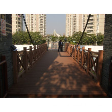 Wood Plastic Composite Decking, Plastic Lumber, WPC Decking