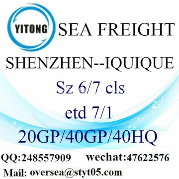 Shenzhen Port Sea Freight Shipping ke Iquique