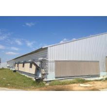 Estructura de acero prefabricada Casa de aves de corral / Casa de pollo (KXD-SSB59)