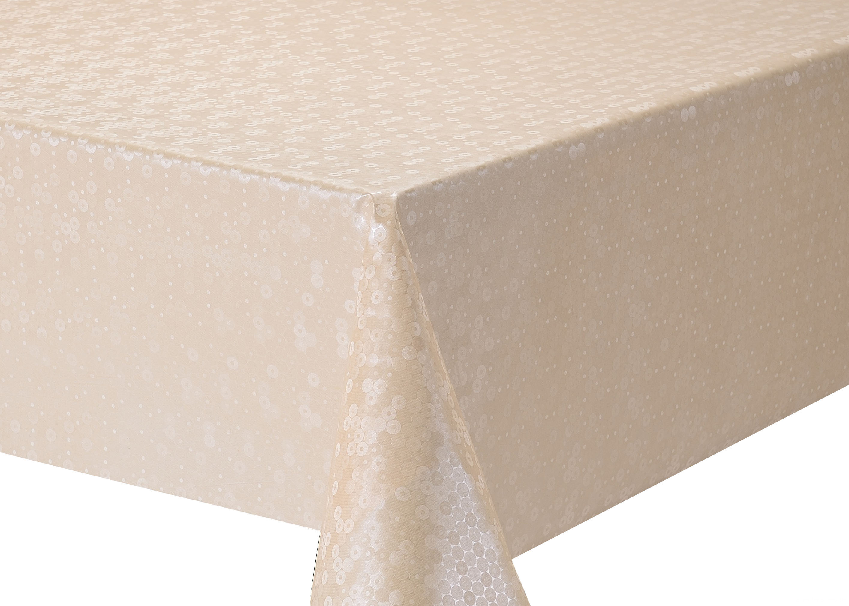 ELEGANT CHAMPAGNE TABLECLOTH