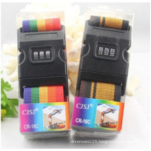 Supply Password Fixed Luggage Belt, Wholesale Colourful Luggage Belt