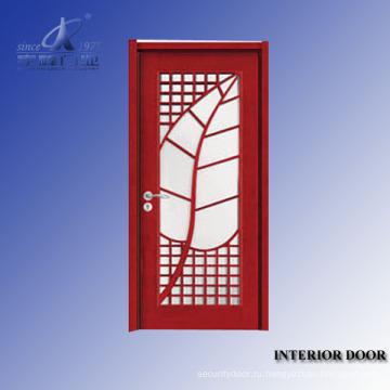 Твердой Деревянной Двери Натуральный Шпон Двери Кожи