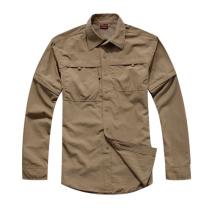 Camisa militar táctica UV-Tratamiento Ligero