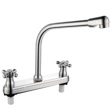 ABS Kitchen Plastic Faucet with Two Handles (JY-1025)