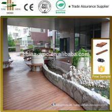 Einfach zusammengebaut privaten Outdoor-Bodenbelag