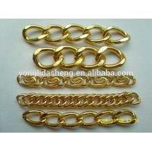 Hermosa forma de bolso de las mujeres piezas de accesorios de bolsas de cadenas