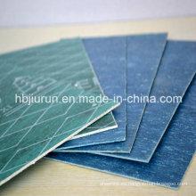 Hoja de unión de caucho sin amianto, juntas de fibra