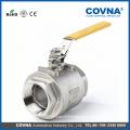 2PC body full bore stainless steel 304 manual ball valve