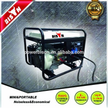 Générateur de machine à souder à 3 phases refroidi à l'air Diesel Set Price Silent Type