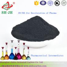 Carbón activado para decoloración de intermedios farmacéuticos