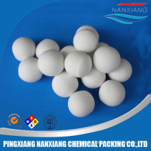 inert ceramic ball 99% alumina catalyst support