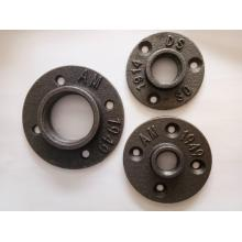 "1/2"" 3/4"" BSP  malleable iron floor flanges"