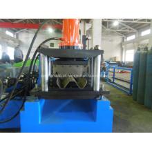 Máquina formadora de rolos de guarda-corpo para rodovia de duas ondas Guardrail