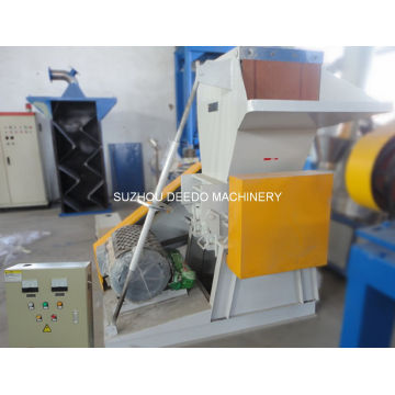 Waste Plastic Film and Bottle Crusher Crushing Machine