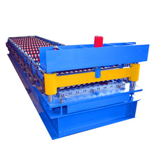 Corrugated Roofing Sheet Iron Roll Forming Machine Line
