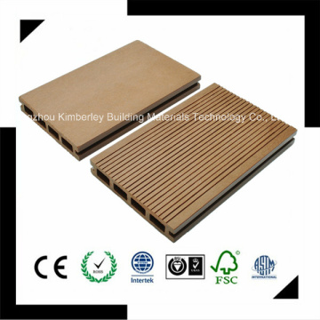 125 * 23 Eco-Friendly de plástico de madera compuesto Decking al aire libre