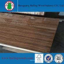 Высокая Лоснистая доска MDF меламина зерна древесины 18мм