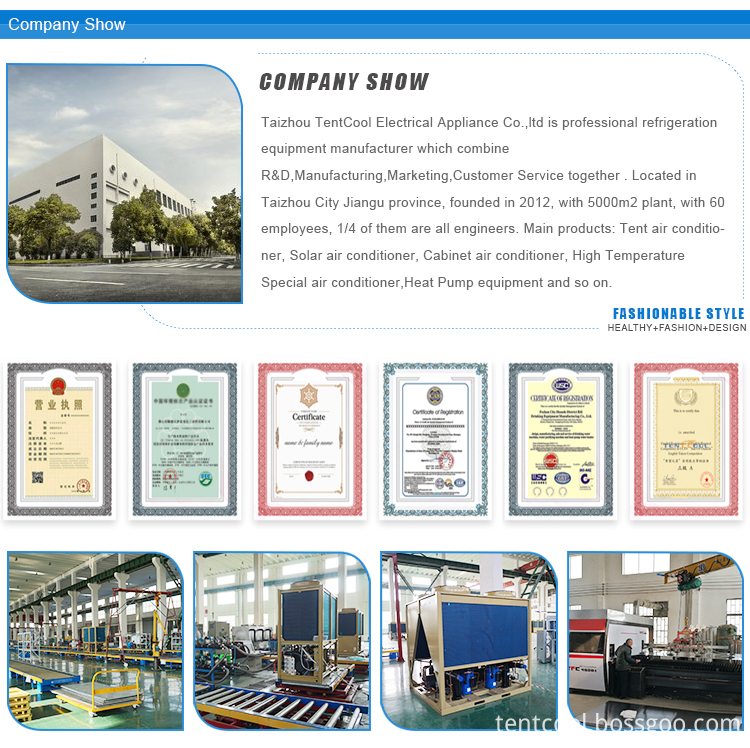 Tentcool Companyshow