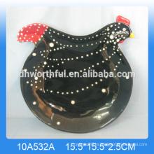 Venta al por mayor Cerámica de la placa del gallo de la alta calidad