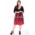2017 новый дизайн дамы платье элегантный летняя мода плюс Размер женщин одежда Богемский платье