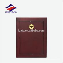 Placa en blanco de la placa de madera de la forma rectangular de encargo