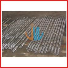 Tornillo y barril de máquina sopladora de película HDPE, LDPE, LLDPE