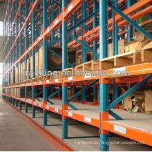 Jracking Warehouse rack de almacenamiento en frío utilizado equipos pesados