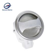 Genuine Marine Car Plastic Stainless Steel Ring Round Door Slam Lock For Caravan RV Boat Marine